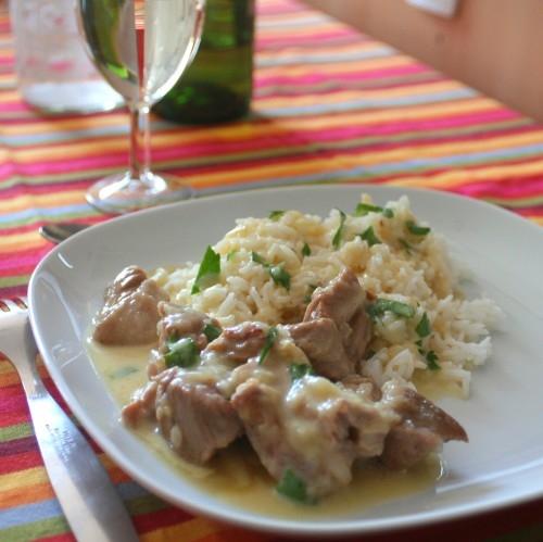 Express et light la blanquette de veau moderne ma - Cuisine blanquette de veau a l ancienne ...