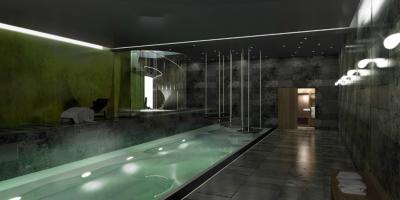 Eco maison exp rimentale en construction dans le 14e paris xiv 75014 paris 14 for Construction piscine couverte chauffee