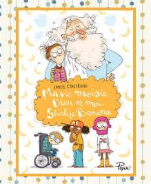 Ma vie moisie, Dieu et moi Shirley Banana, Emilie Chazerand - Petites madeleines - blog livres littérature jeunesse