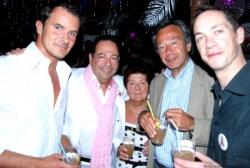 Avec T. Dagiral, Phil, Maman et P. Wermus