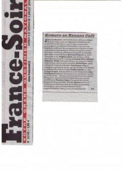 Mes 50 étés dans France Soir - 4 juillet 2009