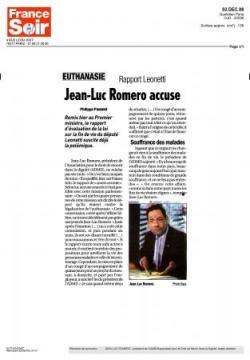 France Soir - 3 décembre 2008