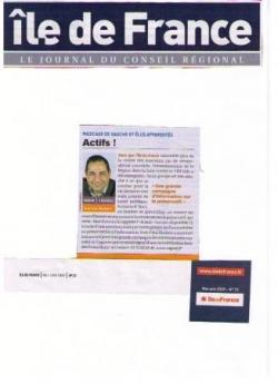 Tribune Région Ile-de-France