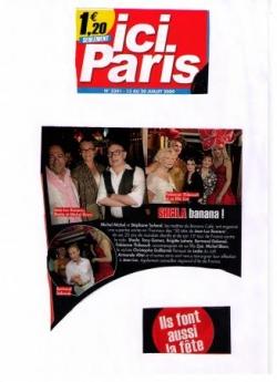Ici Paris - 20 juillet 2009