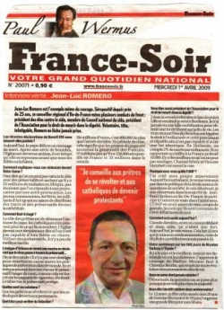 Interview par Paul Wermus - France Soir - 1er avri