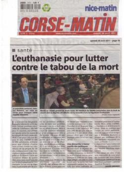 Corse-Matin - 30 avril 2011