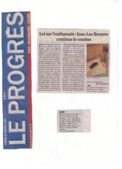 Le Progrès - 31 janvier 2009