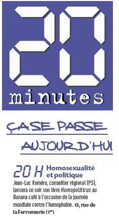 20 Minutes - 16 mai 2011