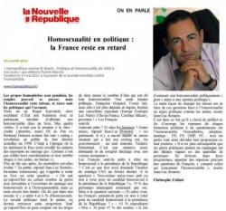 Nouvelle République - 10 mars 2011