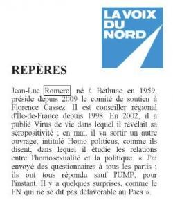 La Voix du Nord - 6 avril 2011