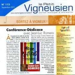 Petit Vigneusien - septembre 2011