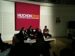 Réunion des blogger Huchon2010