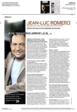 Interview du Monde Mag - 13 février 2010