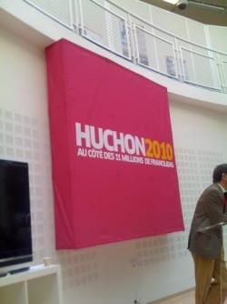 Logo Huchon 2010