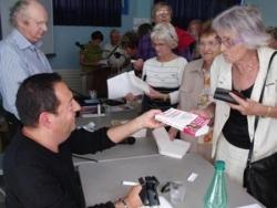 Dédicace au Creusot 11 sept 2009