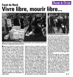 L'avenir de l'Artois - 9 octobre 2009