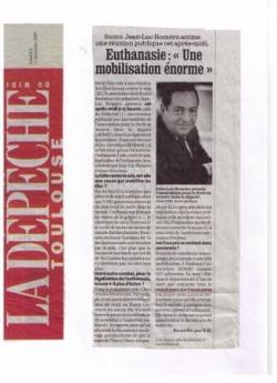 Dépêche du Midi - 12 décembre 2009