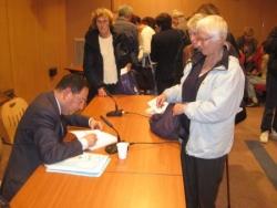 Dédicace Nice - avril 2010