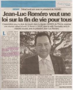 L'Indépendant de l'Yonne - 12 fev 2010