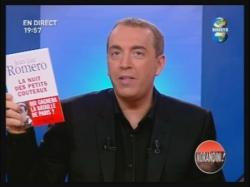 Jean-Marc Morandini présentant mon livre sur Direc