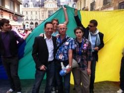 Gay Pride de Rennes - 11 juin 2011