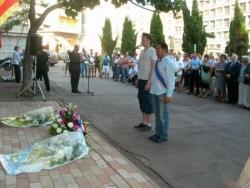 Gerbe pour les déportés homos à Marseille
