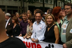 A la marche des Fiertés LGBT le 28 juin 2008