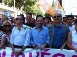 Avec JL Bennahmias à la Gay Pride de Marseille 201