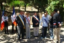 Avec les élus de Marseille juillet 2008