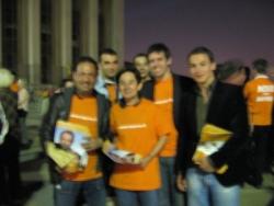 Rassemblement au Trocadero pour Bayrou le 20 avril