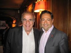 Avec Roland Castro le 14 mai 2007 dans le 12ème ar