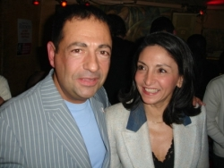 Avec Nicole Guedj