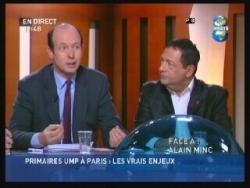Avec Louis Giscard d'Estaing, député-maire de Cha