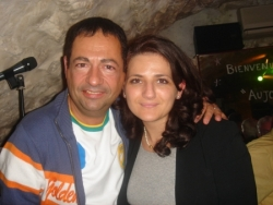 Avec Lynda Asmani