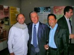 Avec Antonio Ugidos et le pr Delfrayssy au Congrès