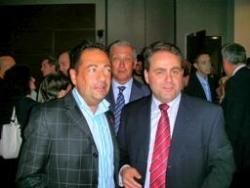 Avec Xavier Bertrand au Congrès du sida à Toronto