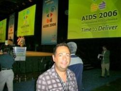 A la clôture du Congrès du sida à Toronto en 2006