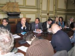 Avec Alain Juppé à Bordeaux - 3.04.09