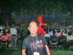 A l'ouverture du Congrès du sida à Toronto en 200
