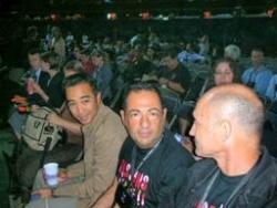 Avec Antonio Ugidos et Willima Ho Van Cam au Congr