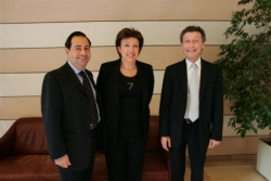 Avec Roselyne Bachelot aet W. Rozenbaum aux EG d'