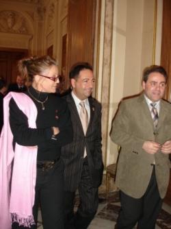Avec Xavier Bertrand et Sheila pour ELCS