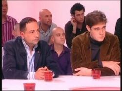 Avec B. Audouin du Sidaction sur Pink TV