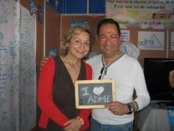 Avec Roxane Decorte aux Solidays 2009