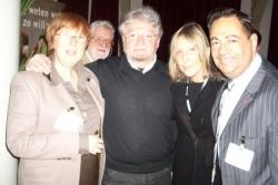 Avec J. Herremens et le député Huss à Amsterdam -