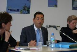 Avec la députée Poletti et la déléguée ADMD à Char