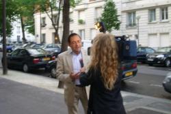 Interview pour I-Télé pour l'ADMD le 19 sept 2007