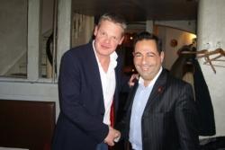 Avec le président Danois de l'ADMD