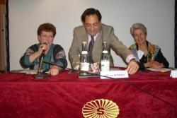 Avec Catherine Trautman et Elke Baezner