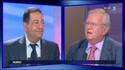 France 3 - Soir 3 - Face à J Myard 24 septembre